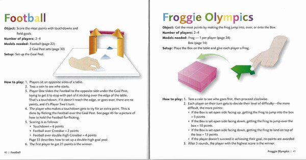 origami games for kids playing