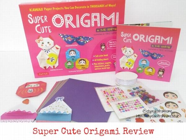 super cute origami review