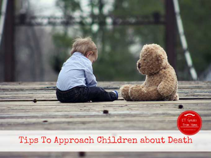 tips to approach children about death