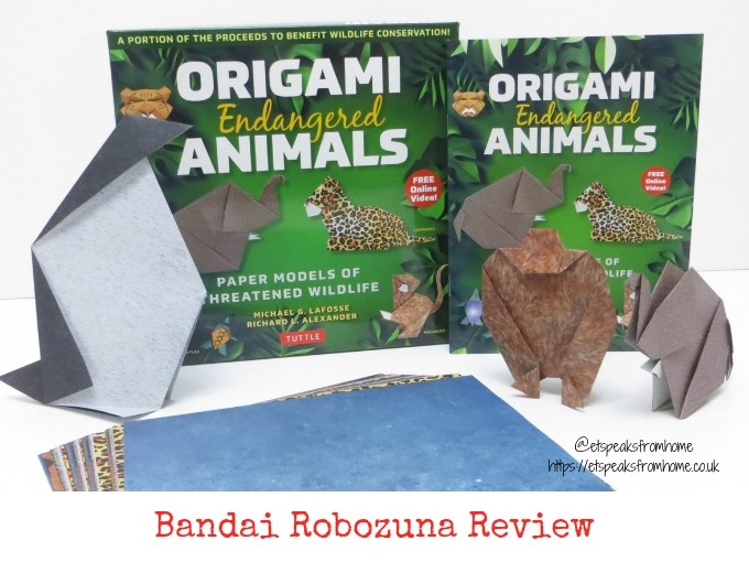 Origami Endangered Animals Review