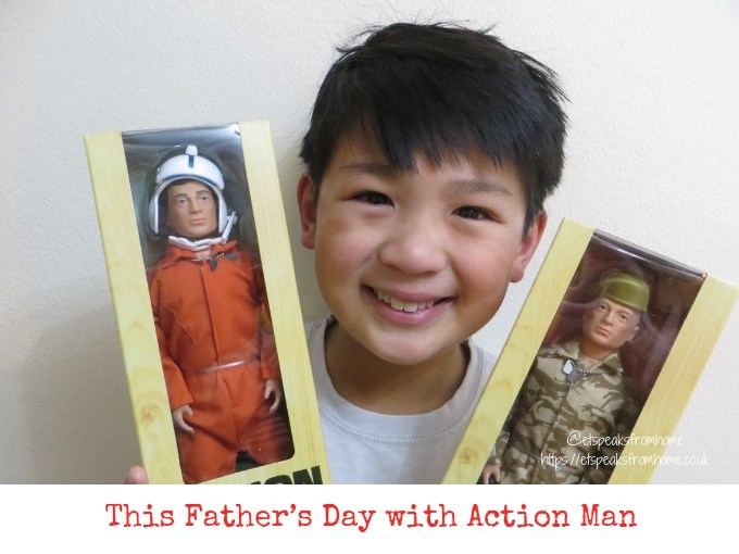 This Father's Day with Action Man