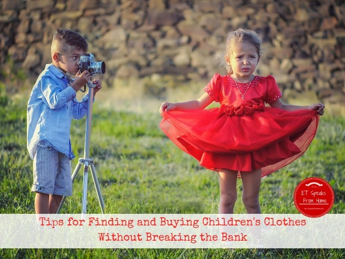 Tips for Finding and Buying Children's Clothes Without Breaking the Bank