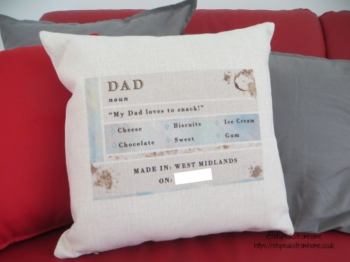Father's Day Gifts From norma&dorothy cushion