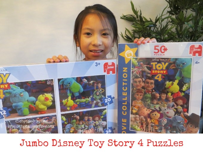 Jumbo Games Toy Story 4 Puzzles Review & Giveaway