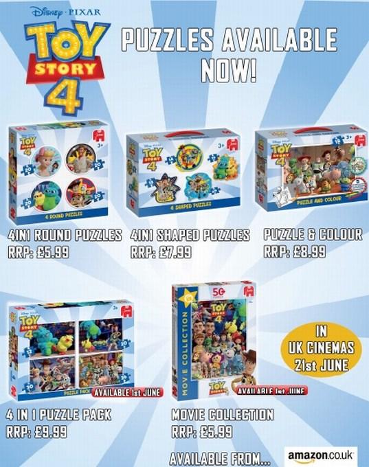 Jumbo Games Toy Story 4 brand new