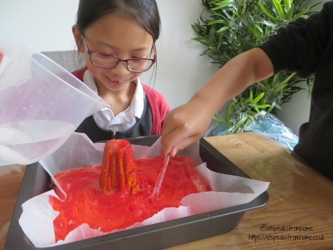 national geographic build your own volcano erupt