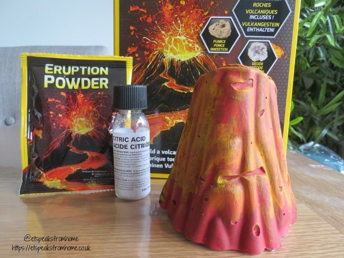 national geographic build your own volcano with chemical