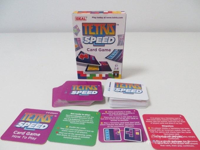 world tetris day speed card game