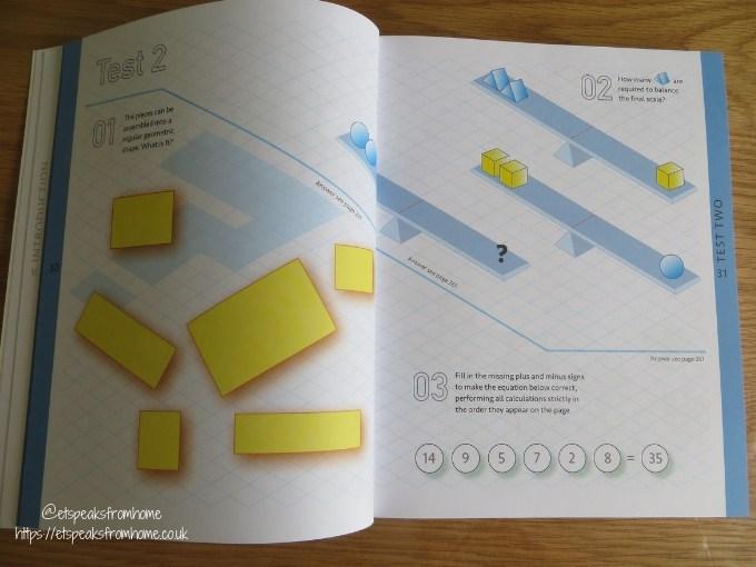Carlton Books Puzzles & Quizzes Books mensa test your logic