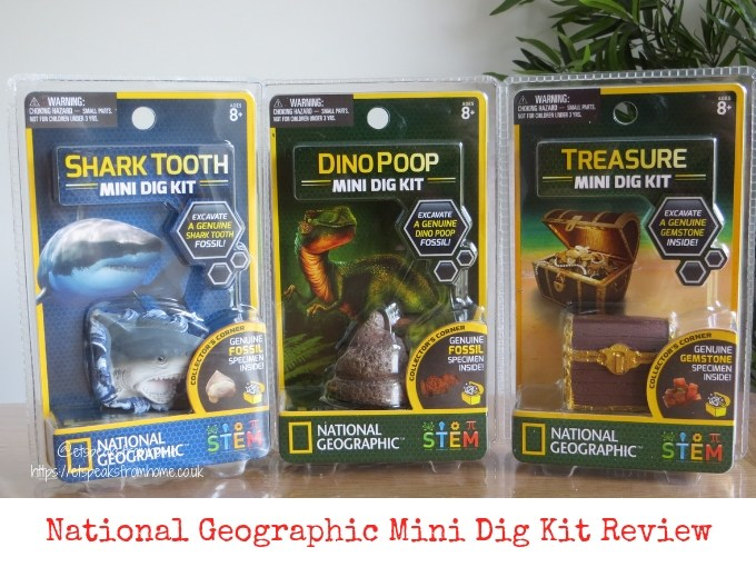 National Geographic Mini Dig Kit Review