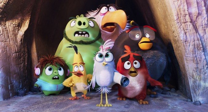 the angry birds movie 2 characters