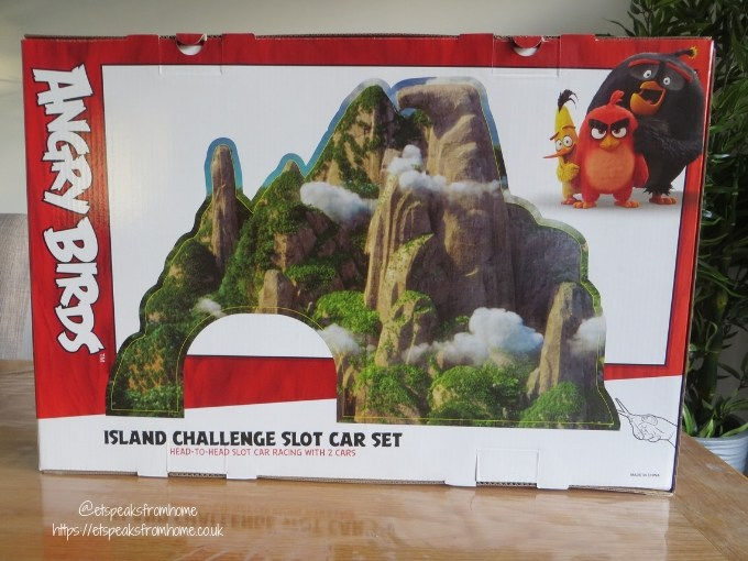 Angry Birds Island Challenge Slot Car board