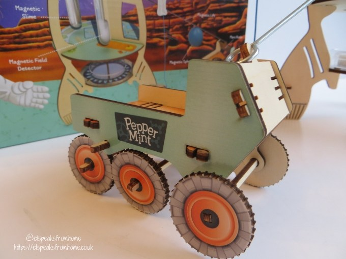 Pepper Mint The Magnificent Mars Expedition mars rover