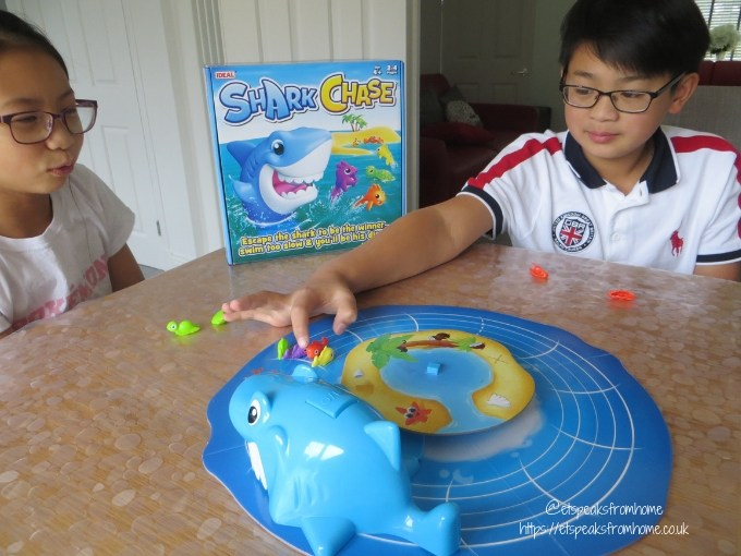 Shark Chase playing