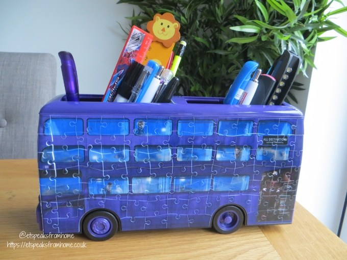 harry potter puzzle bus stationery