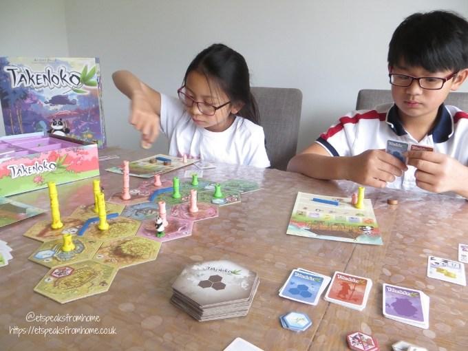 takenoko game playing