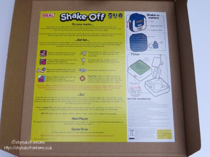 Shake Off instructions