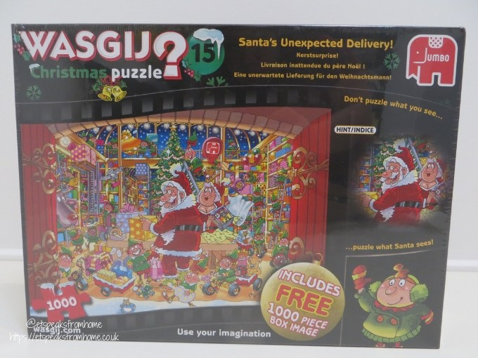 wasgij puzzle christmas 15 1000