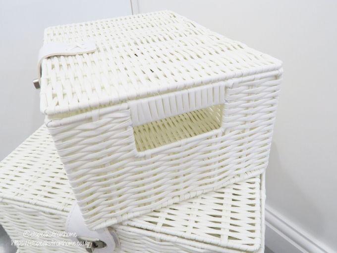 Arpan Set of 3 Baskets handle