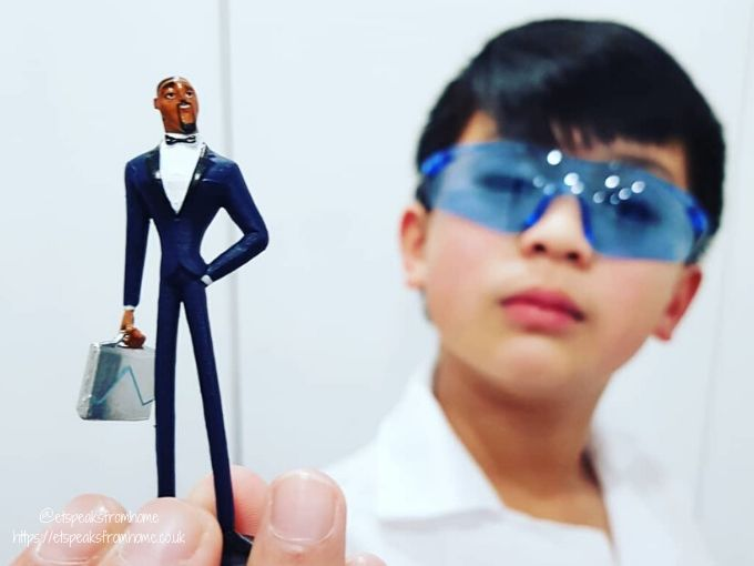 Spies in Disguise Movie lance