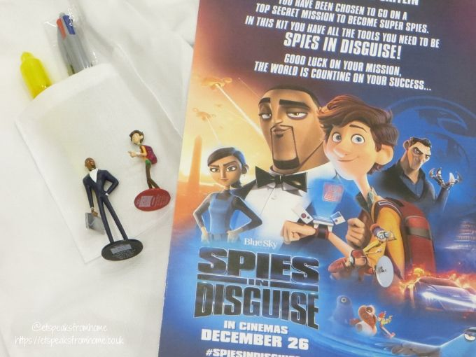 Spies in Disguise Movie pens