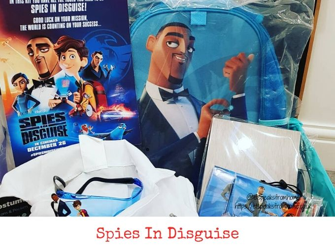 Spies in Disguise Movie