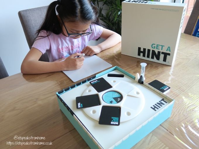Get A HINT board game playing