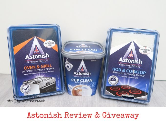 Astonish review & giveaway