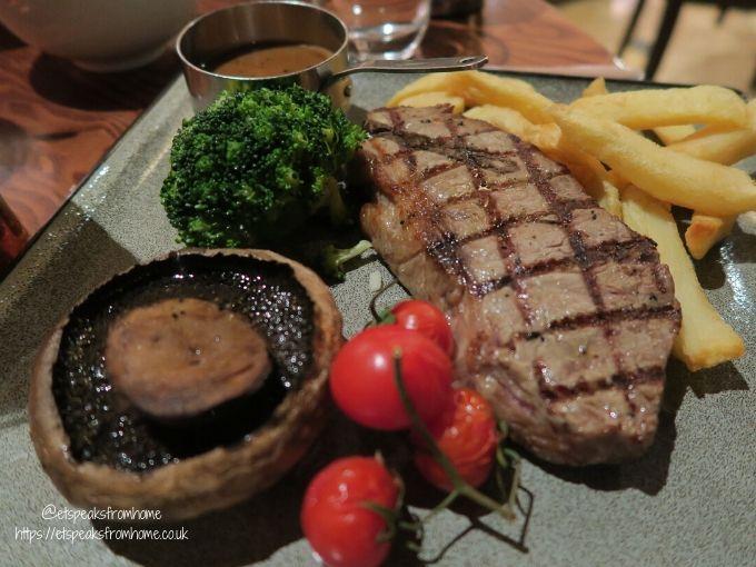 kettering park hotel dinner steak