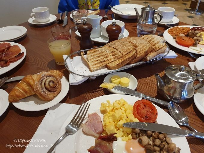 kettering park hotel & spa breakfast
