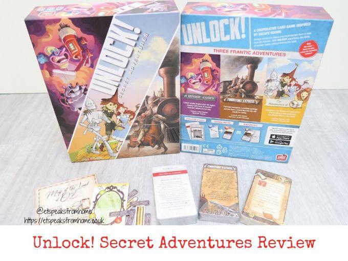 unlock secret adventures review