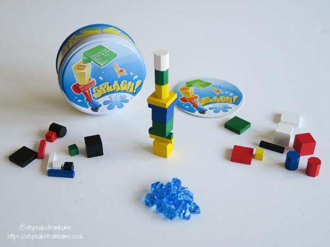Splash Coiledspring Games contents
