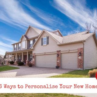 6 Ways to Personalise Your New Home