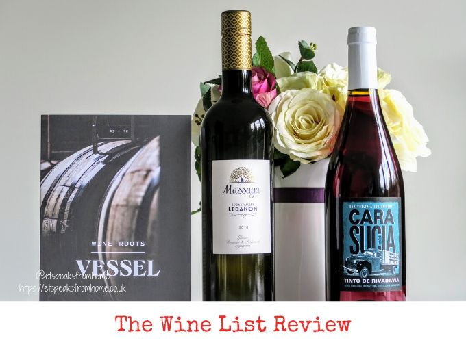 the wine list review