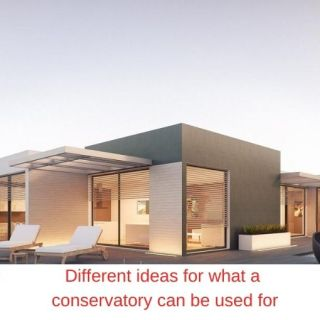 Different ideas for what a conservatory can be used for