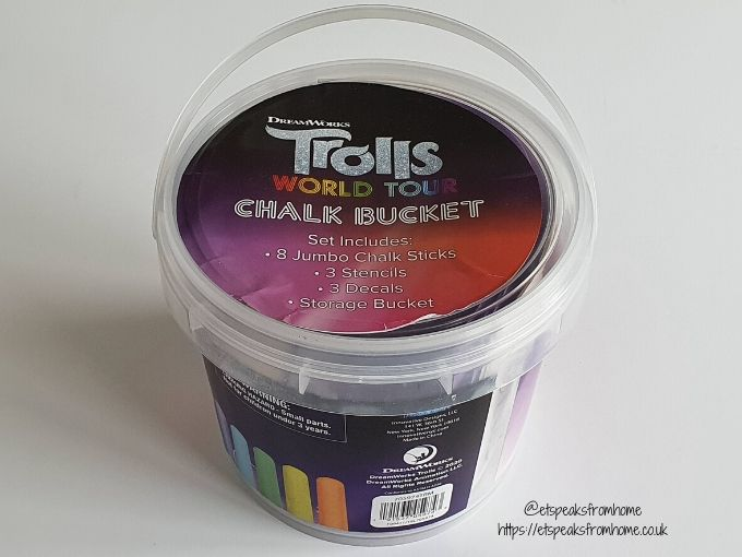 Trolls World Tour chalk