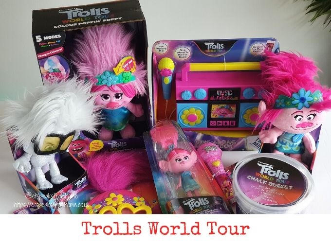 Trolls World Tour toys