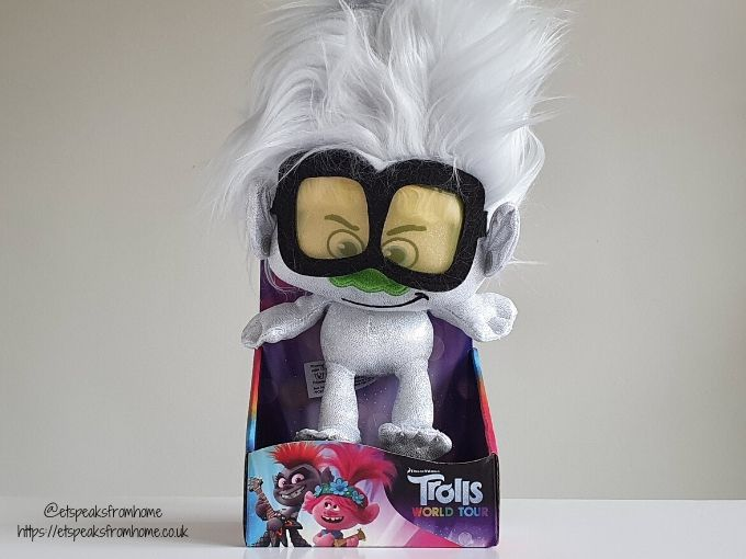 Trolls World Tour white doll