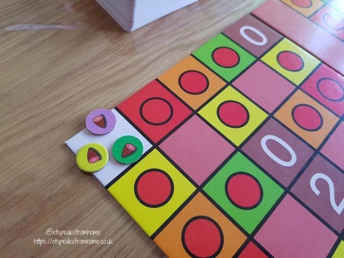 Game of HAM playing piece
