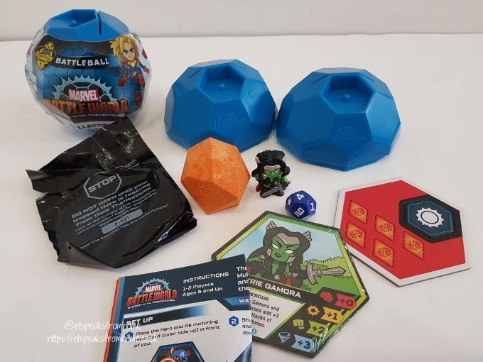 Marvel Battleworld Mystery of The Thanostones battleball unboxing