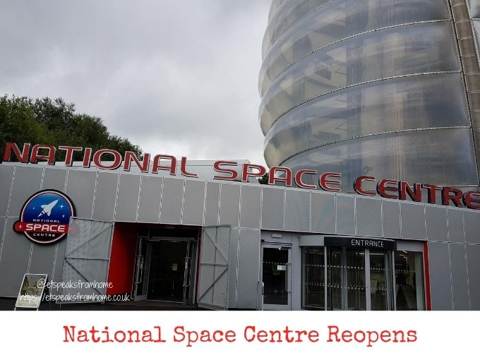 National Space Centre Reopens