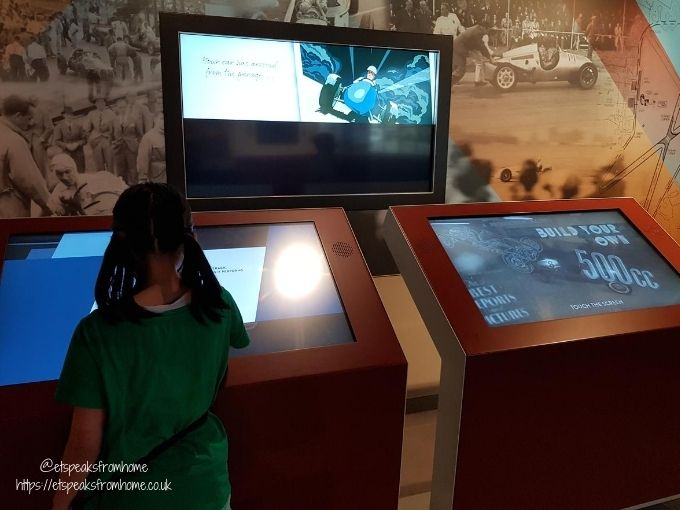 The Silverstone Experience interactive