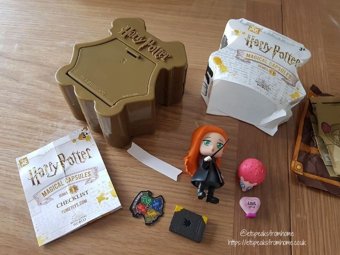 back to hogwarts series 1 mystery box collectible