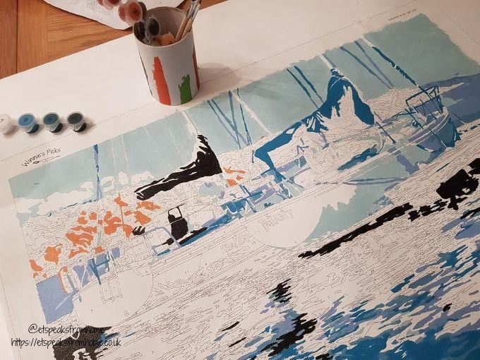 winnie's picks paint by numbers painting