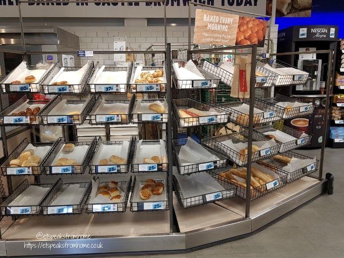 Shopping at Jack's Supermarket bakery