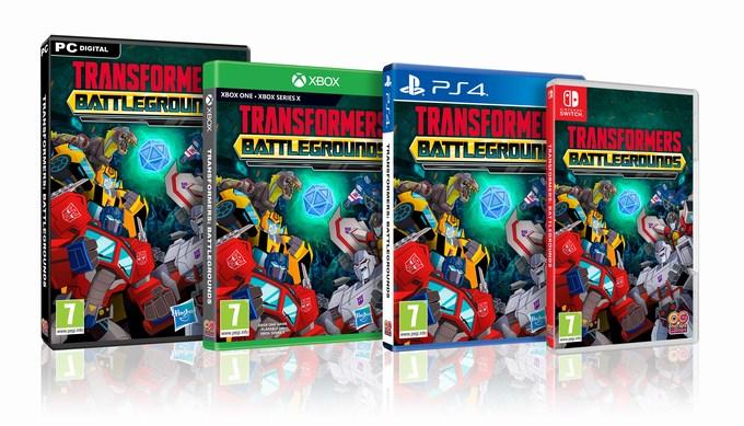 Transformers Battlegrounds game console