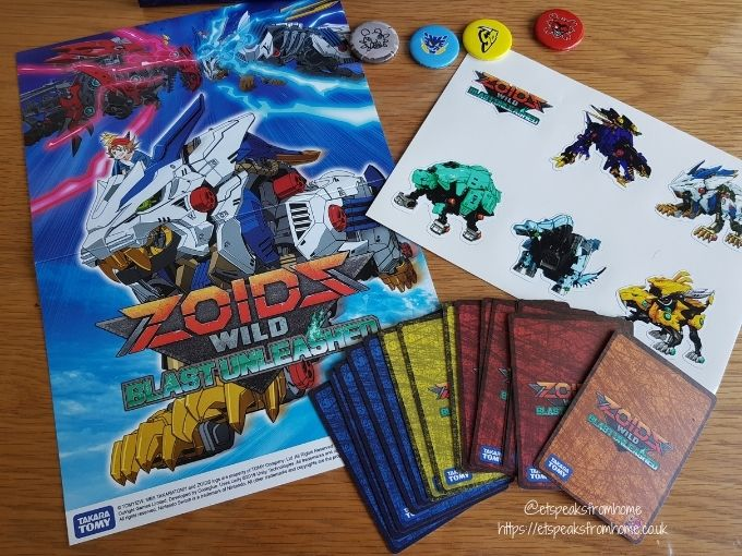 Zoids Wild Blast Unleashed mech