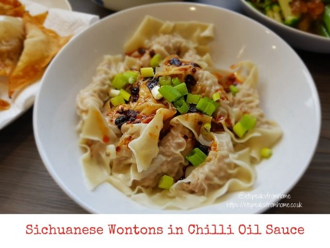 Sichuanese Wontons in Chilli Oil Sauce with SousChef