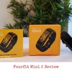 fourfit mini 2 fitness band review
