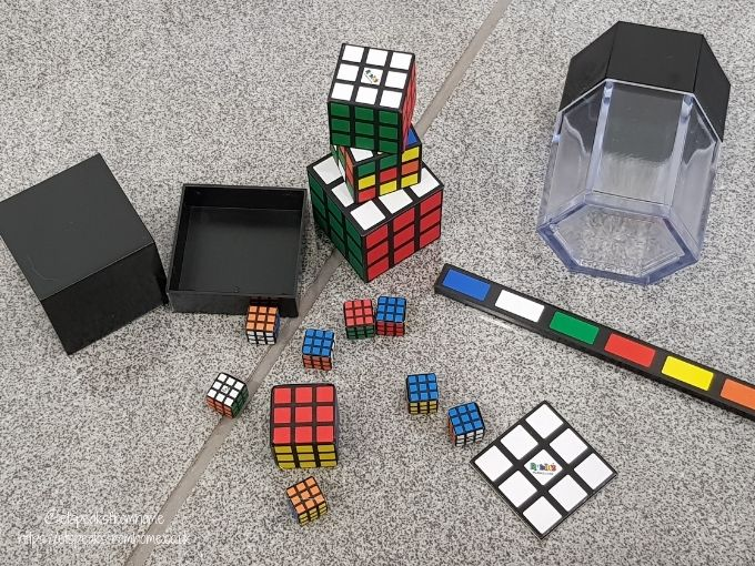 Rubik's Amazing Box of Tricks content